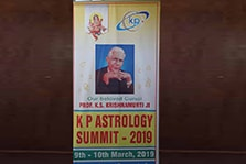 image-KP Astrology Summit 2019 on 9th &10th March, at Hotel A'La Liberty