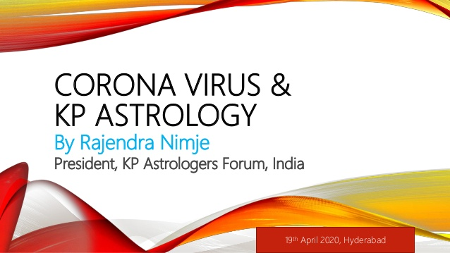 image-Corona Virus & KP Astrology